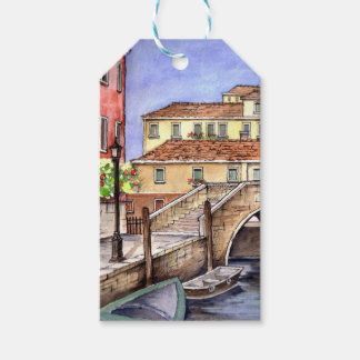 Venice - Pen & Wash Watercolor Painting Gift Tags