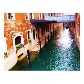 Venice Photograph - Canal Picture Postcard