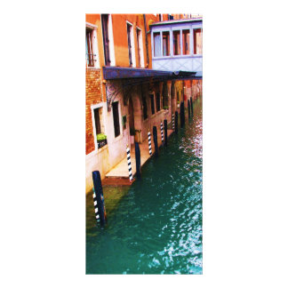 Venice Photograph - Canal Picture Custom Rack Cards