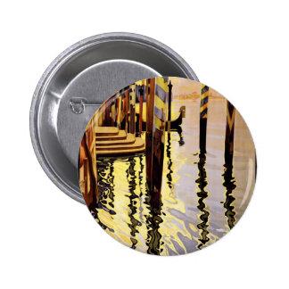 Venice poster 6 cm round badge
