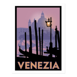 Venice Poster Post Card