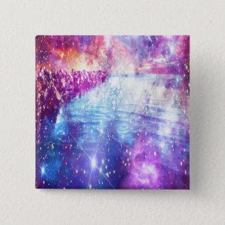 Venice Rainbow Universe 15 Cm Square Badge