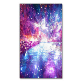 Venice Rainbow Universe Magnetic Business Cards
