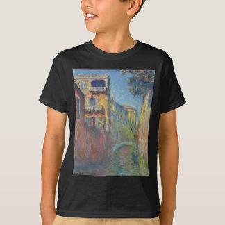 Venice, Rio de Santa Salute by Claude Monet T-Shirt