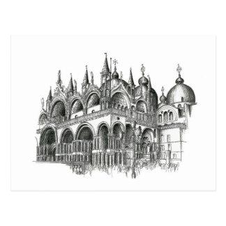 Venice San Marco Postcard