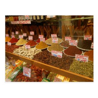 Venice Spice Market Postcard