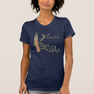 Venice St. Mark's Campanile Womens T-Shirt