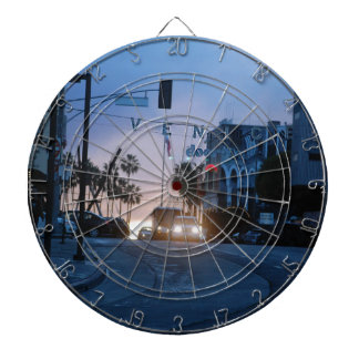 venice sunset dartboard