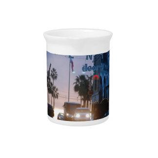 venice sunset pitcher