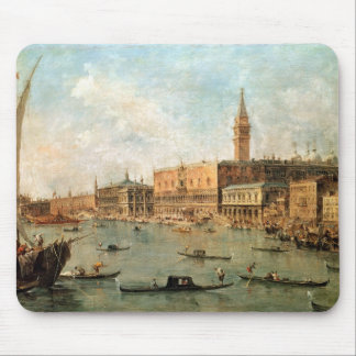 Venice: The Doge's Palace and the Molo from the Ba Mouse Pad