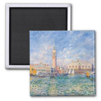 Venice (The Doge's Palace) Pierre-Auguste Renoir Magnet