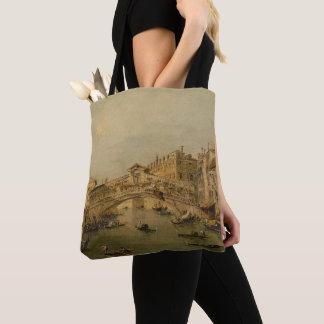 Venice The Rialto Tote Bag