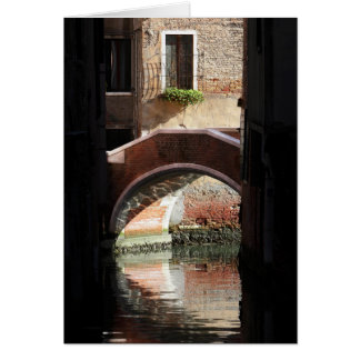 Venice View Of A Bridge Greeting Cards