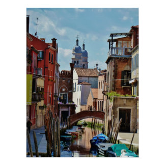 Venice View Poster