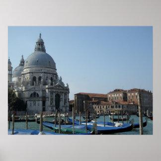 Venice Waking Poster