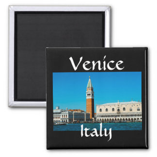 Venice waterfront Italy magnet