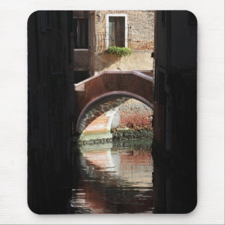Venice Window View of a Bridge Mouse Pad
