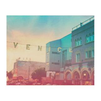 Venice Wood Canvas