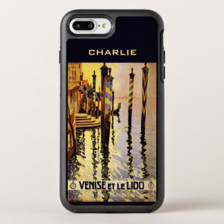 """Venise et le Lido"" custom name phone cases"