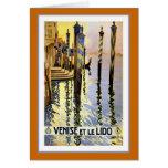 """""""Venise et le Lido"""" Vintage Travel Poster Cards"""