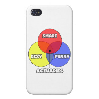 Venn Diagram .. Actuaries iPhone 4/4S Cases