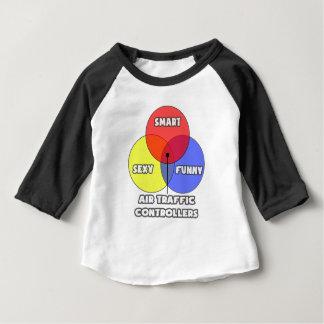 Venn Diagram .. Air Traffic Controllers Baby T-Shirt