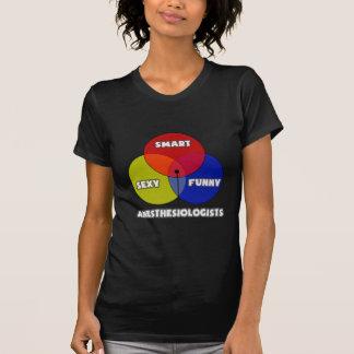 Venn Diagram .. Anesthesiologists Tshirt