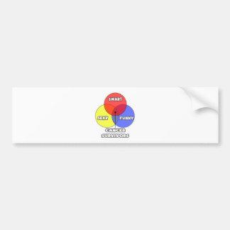 Venn Diagram .. Cancer Survivors Bumper Sticker
