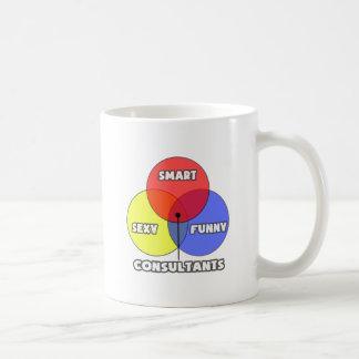 Venn Diagram .. Consultants Coffee Mug