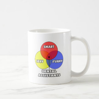 Venn Diagram Dental Assistants Coffee Mugs