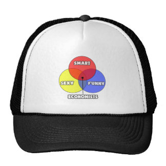 Venn Diagram .. Economists Trucker Hat