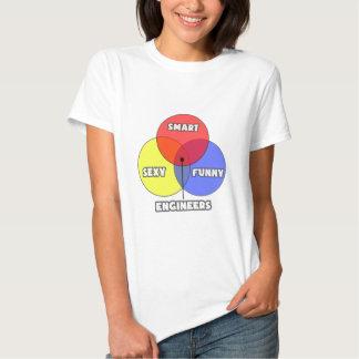 Venn Diagram .. Engineers T Shirt