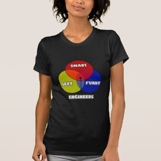 Venn Diagram .. Engineers T Shirts