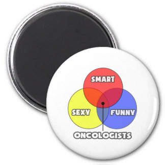 Venn Diagram .. Oncologists Magnets
