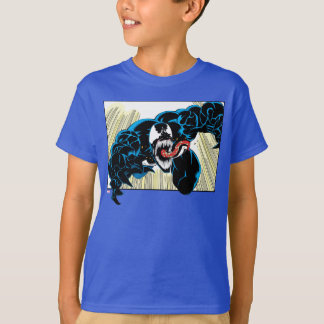 Venom Air Attack Comic Panel T-Shirt