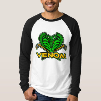 Venom Canvas Long Sleeve Raglan T-Shirt