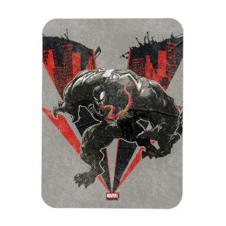Venom Ink And Grunge Magnet
