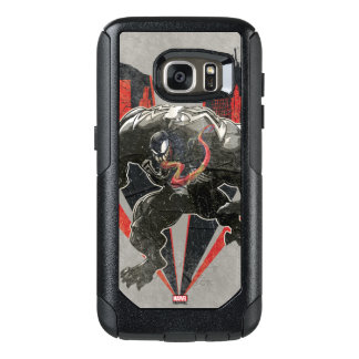 Venom Ink And Grunge OtterBox Samsung Galaxy S7 Case
