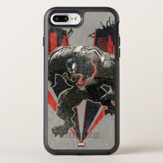 Venom Ink And Grunge OtterBox Symmetry iPhone 8 Plus/7 Plus Case