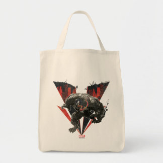 Venom Ink And Grunge Tote Bag