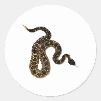 Venomous Bites Classic Round Sticker