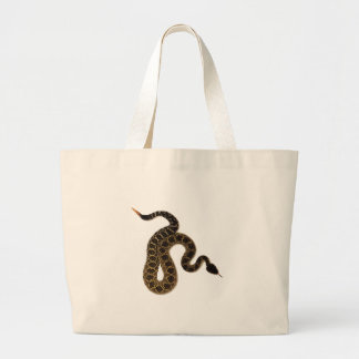 Venomous Bites Large Tote Bag