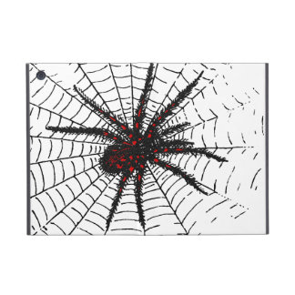 Venomous Black Spider Scary Insect Art Case For iPad Mini