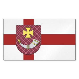 Venstpils Flag Magnetic Business Cards