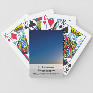 Ventura Sunset Bicycle Playing Cards