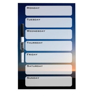 Ventura Sunset Dry Erase Board