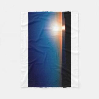 Ventura Sunset Fleece Blanket