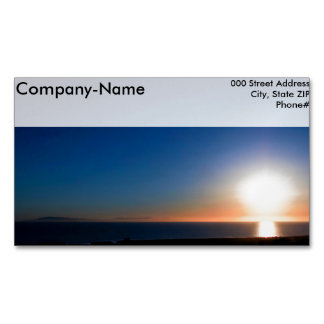 Ventura Sunset Magnetic Business Card