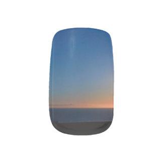 Ventura Sunset Minx Nail Art