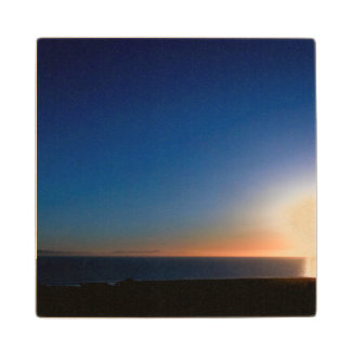 Ventura Sunset Wood Coaster